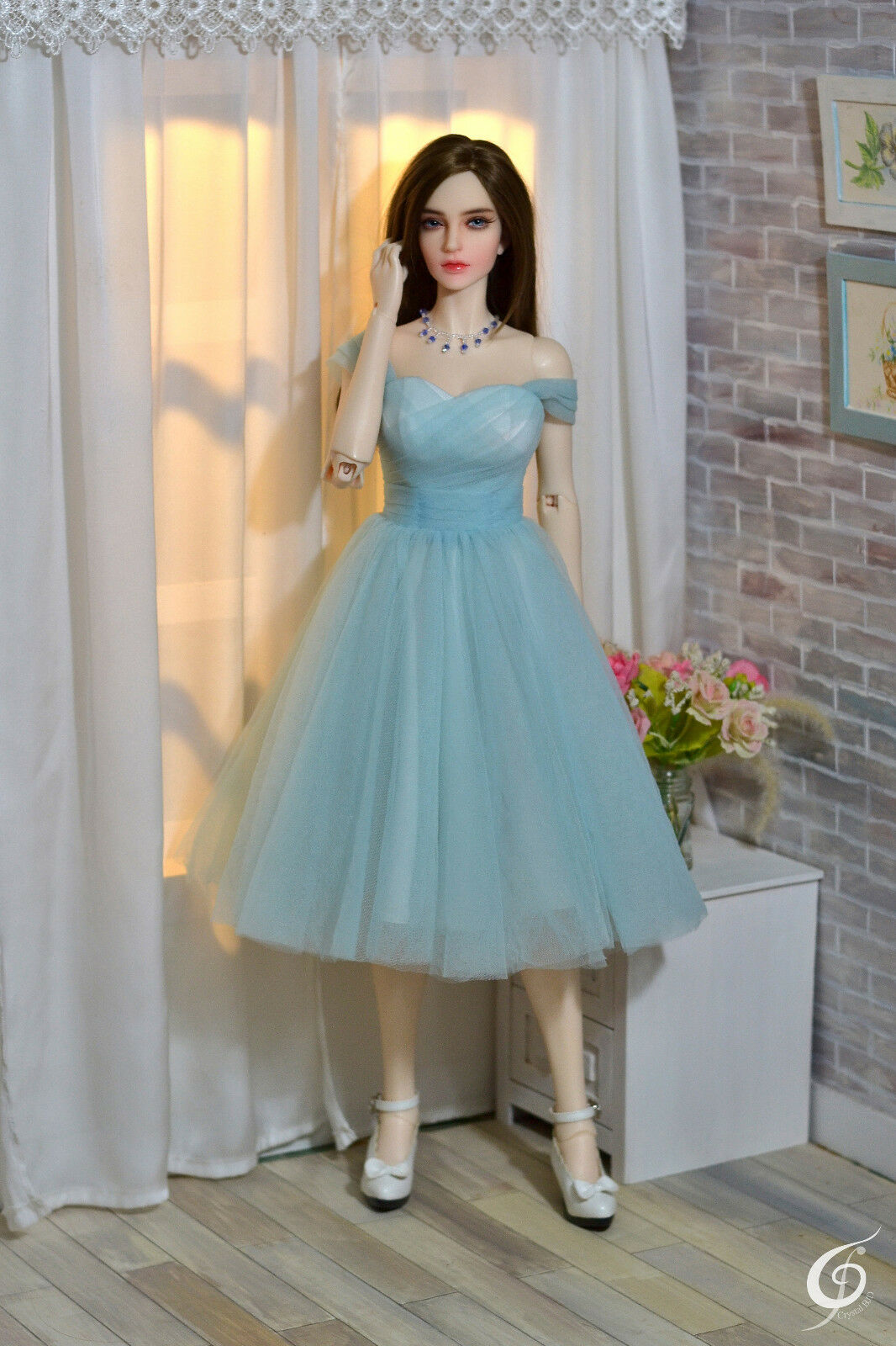 Tulle Prom Dress for Iplehouse EID, SID BJD