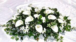 Hawaii Ficus Spray Artificial Greenery Silk Wedding Decoration Arch Table Runner
