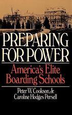 PREPARING FOR POWER - NEW PAPERBACK BOOK