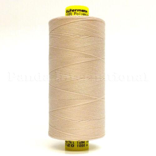 GUTERMANN Mara 120 100/% POLYESTER THREAD 1094 yard//spool Reg Sewing Color 1218