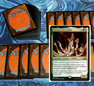 mtg GREEN WHITE SELESNYA DECK Magic the Gathering pioneer ajani rare cards