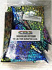 1/2 Lb Dichroic Pattern Scrap 90 Glass Fusible DC122