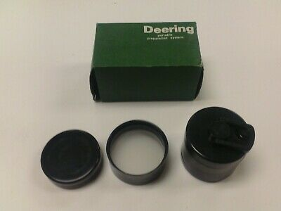 DEERING TYPE SPICE MILL GRINDER FUNNEL HEAVY PLASTIC PORTABLE BOTTLE ATTACHMENT