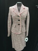 Albert Nipon Skirt Sui/size 16/tweed Fabric/lined/retail$249/skirt Length 23