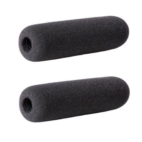 "Movo F14 Foam Windscreen for Azden Shotgun Microphones up to 8cm//3.1/"" 2 PACK"
