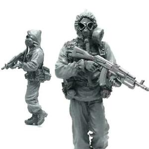 Scale-1-35-Resin-Marines-Soldier-in-Action-Tactical-Machine-Painted-F6J7-Wi-L9E2
