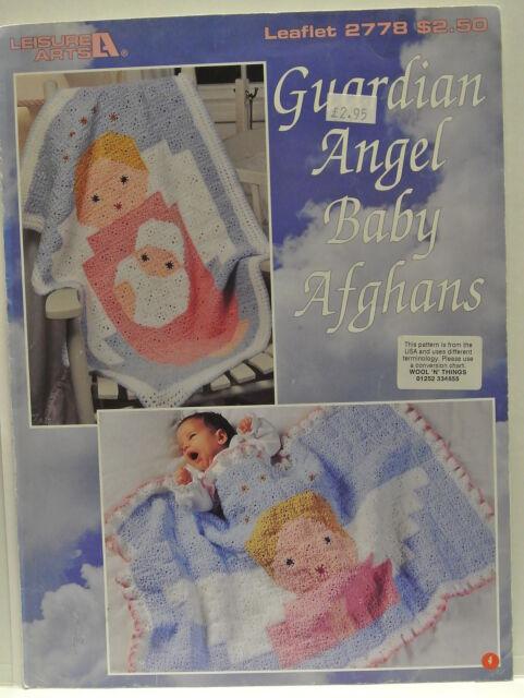 Leisure Arts. Leaflet 2778. Guardian Angel Baby Afghans.