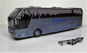 Rietze-1-87-Neoplan-Starliner-Reisebus-OVP-graublaumetallic-Werbemodell