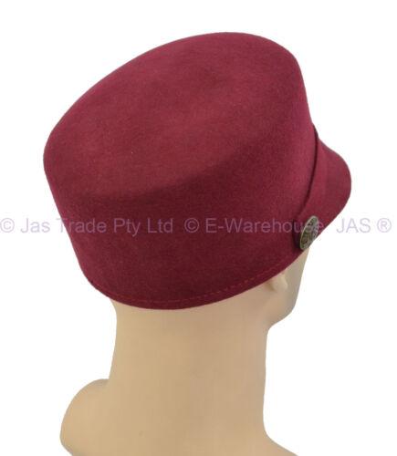 Wool Baseball Military Police Army Music Band Newsboy Party Costume Felt Cap Hat
