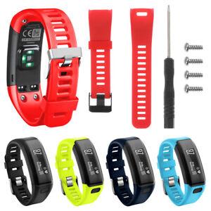 Armband-Sport-Gurtband-Armband-Silikon-Watch-Band-For-Garmin-Vivosmart-HR
