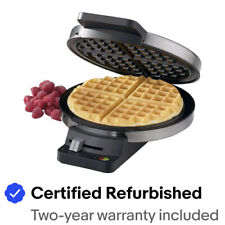 Cuisinart Round Classic Waffle Maker WMR-CA, Silver