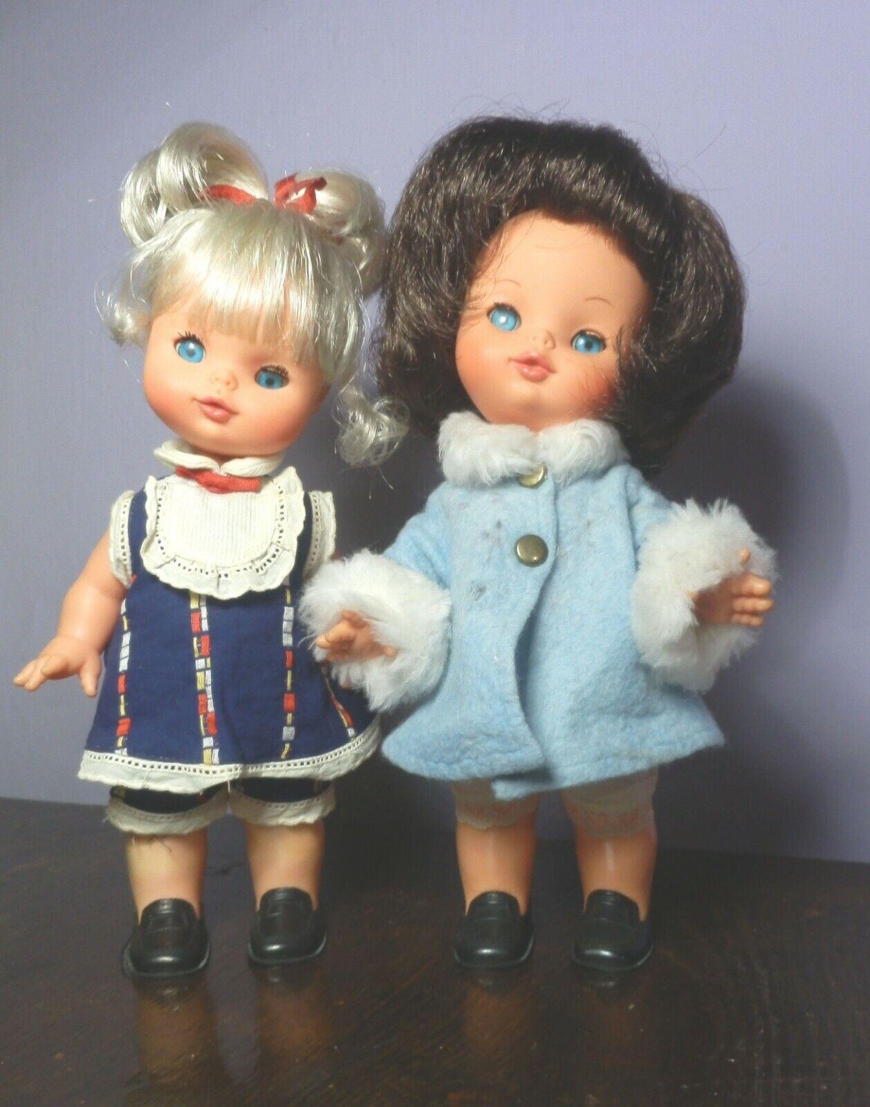 Babette e e e Betty Furga Vintage Doll Puppen Poupee Muneca 886089