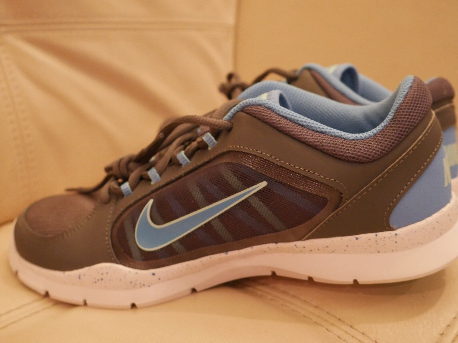 NEW Women's Nike Flex Trainer Tennis shoes DARK GRAY BLUE  8.5,11