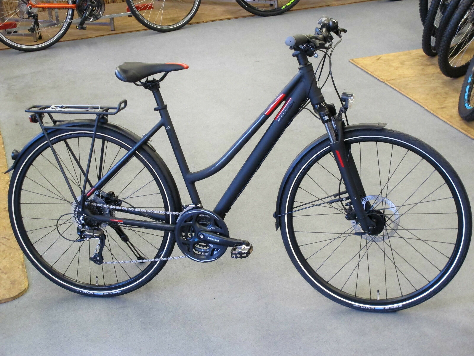 Raleigh embouteillages trekkingrad Ltd 24 rh45cm 24-Gang 28