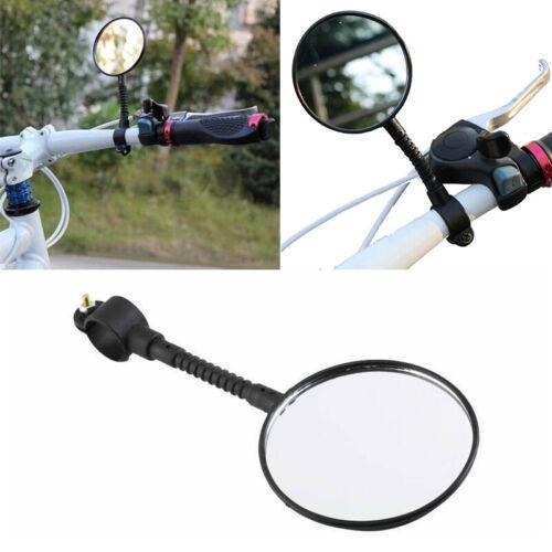 BICYCLE MOBILITY ROUND MIRROR GLASS MOUNTAIN ROAD BIKE O3V5