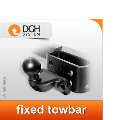 Fixed towbar hook Volkswagen Crafter 2006 onwards VAN no step