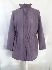 Pequeño (tamaño 12-14) Indigo Púrpura Acolchado Abrigo MAC, Bon Marche, una vez usado, cálido