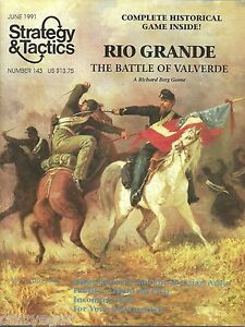 Strategy-amp-Tactics-S-amp-T-143-Rio-Grande-Battle-of-Valverde-by-Richard-Berg