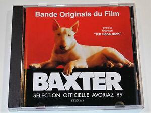 Marc-Hillman-amp-Patrick-Roffe-BAXTER-Soundtrack-CD-Near-Mint