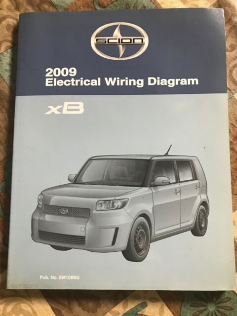 Toyota Scion Xb Electrical Wiring Diagram Manual 2009