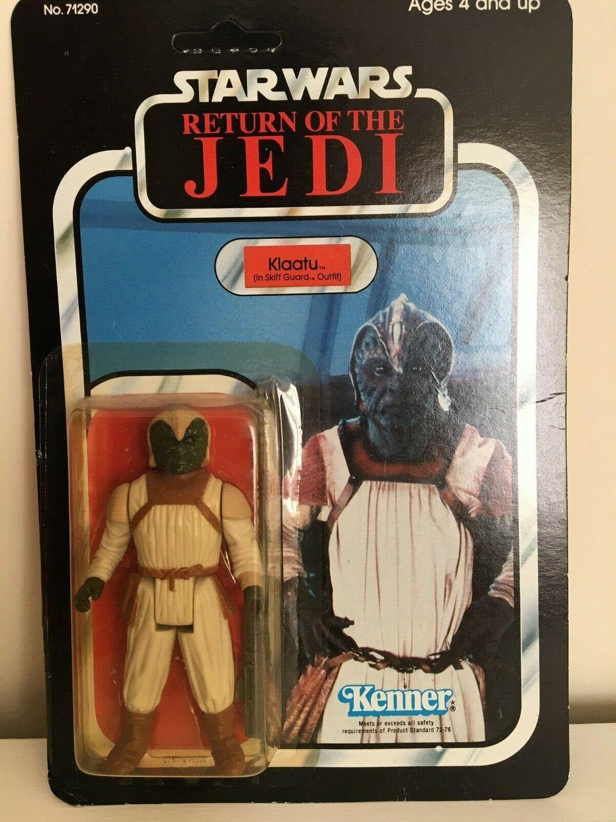 Retro Estrella Wars-Regreso Del Jedi-Klaatu-en bote traje De Guardia