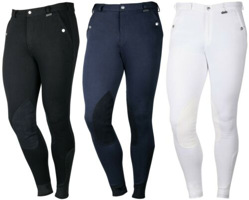 All Sizes 3 Colours Harry/'s Horse Mens Riding Breeches Beijing II Knee Patch