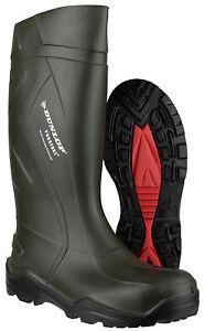 Dunlop-Purofort-Impermeable-Meter-Hombre-Industrial-Trabajo-Botas-de-goma