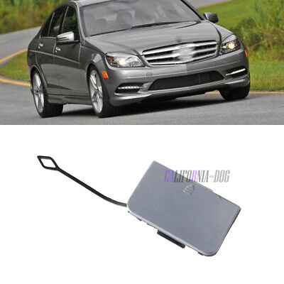 MERCEDES C-CLASS W204 2011-2014 FRONT BUMPER TOWING EYE COVER PRIMED NEW