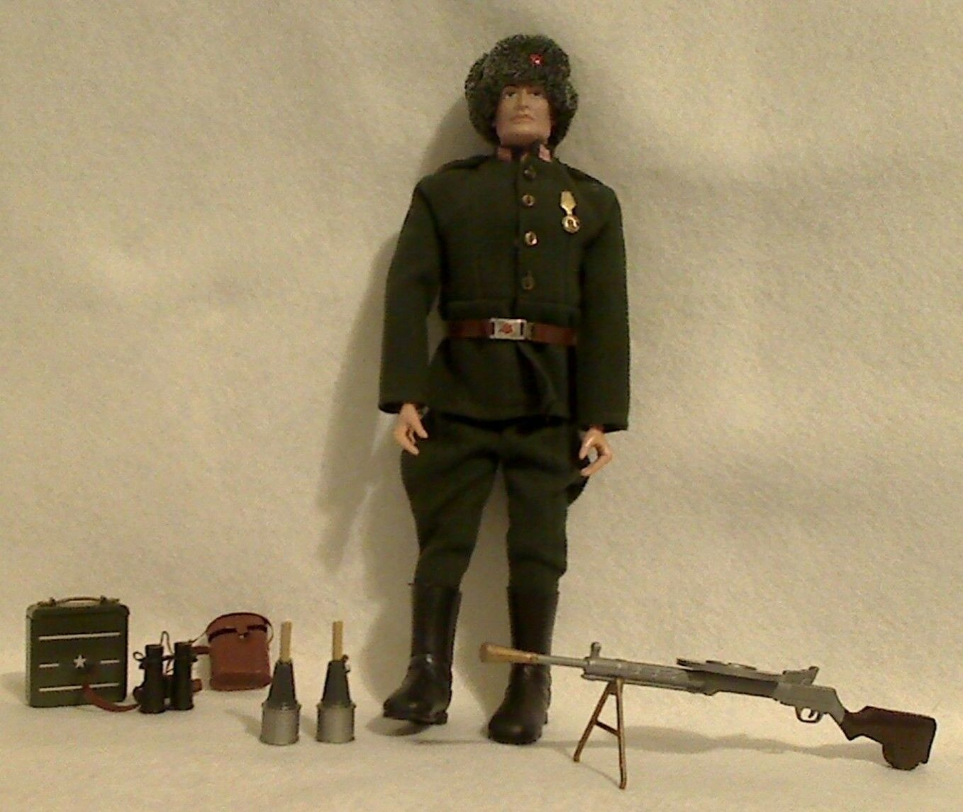 GI JOE Vintage Russian Infantry Soldier with all accessories