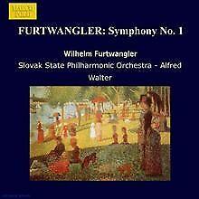 Furtwängler: Symphonie Nr.1 von Alfred Walter | CD | Zustand sehr gut