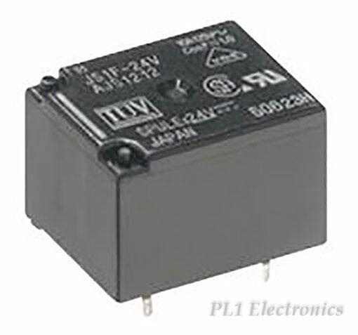1x PANASONIC-Relais JS1aPF-B-24V-F 24V- VDC 4R60 JS1-24V-F 250V~ AC//10A