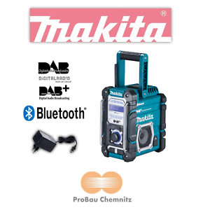 Super Makita Akku Baustellenradio DMR112 DMR 112 / 7,2-18 V DAB DAB+ KO09