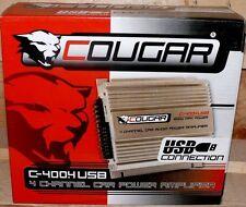 Cougar 4 Kanal CAR HIFI Verstärker AUTO Amplifer USB MP3 1200W AMPLIFIER ALU B2