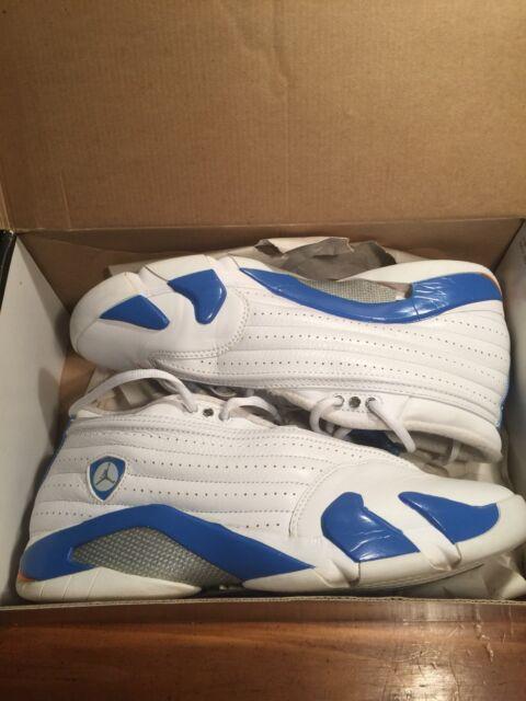 5fc82cb5478 cheapest nike air jordan xiv 14 retro size 10 white pacific blue ceramic  312567 30e4f 4abbc
