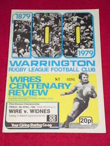 RUGBY-LEAGUE-PROGRAMME-Warrington-v-Widnes-April-4-1980