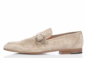 CORNELIANI-ID-New-Man-Suede-Leather-Mocassins-Loafer-Slip-on-Shoes-sz-9-UK-OFFER