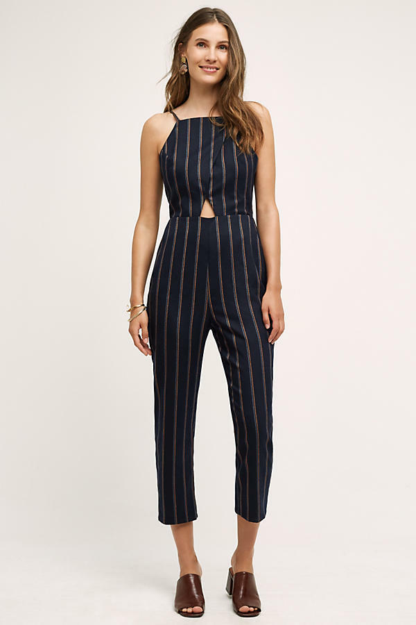 NWT Anthropologie Naeve Jumpsuit By Cartonnier Größe Medium