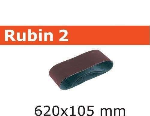 Festool Schleifband-Rubin L620X105-P120 RU2//10 Stück