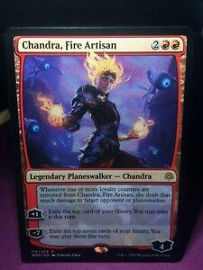 Details about MTG Magic Card Rare War of the Spark #119 Chandra, Fire  Artisan Mint 💎✔🔎