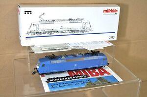 MARKLIN-MaRKLIN-3173-DIGITAL-6080-LIMITED-ED-MIBA-DB-BLUE-BR-120-E-LOK-LOCO-nc