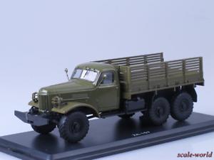 punto de venta Modelo de de de escala camión 1 43 ZIL-157 Caja  Mercancía de alta calidad y servicio conveniente y honesto.