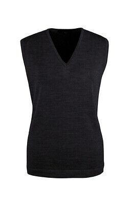6051 Greiff Corporate Wear Strick Damen Pullunder Regular Fit Schwarz Modell