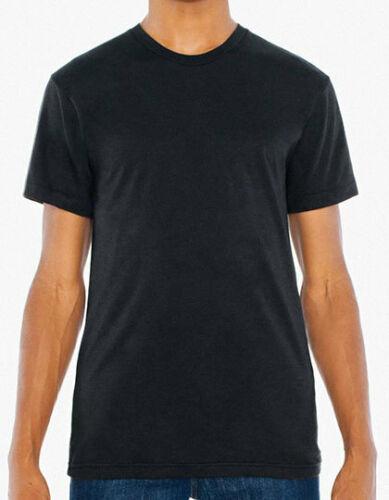 AMERICAN APPAREL Unisex Poly-Cotton Crew Neck T-Shirt XS S M L XL XXL AM4010
