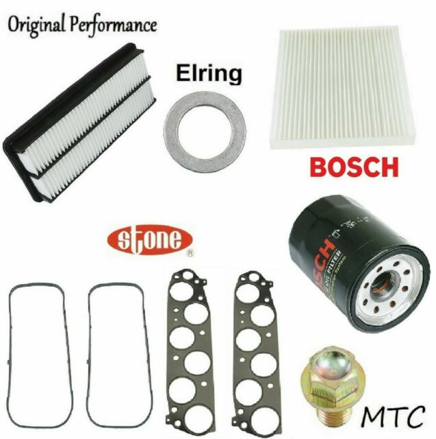Tune Up Kit Oil Air Fuel Filters Gaskets For Acura TL V6