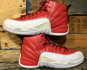 cf293347a38 Nike Air Jordan 12 Retro Jump Man Gym Red 130690-600 Basketball ...