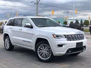 2018 Jeep Grand Cherokee OVERLAND**4X4**LEATHER**NAV**PANORAMIC SUNROOF