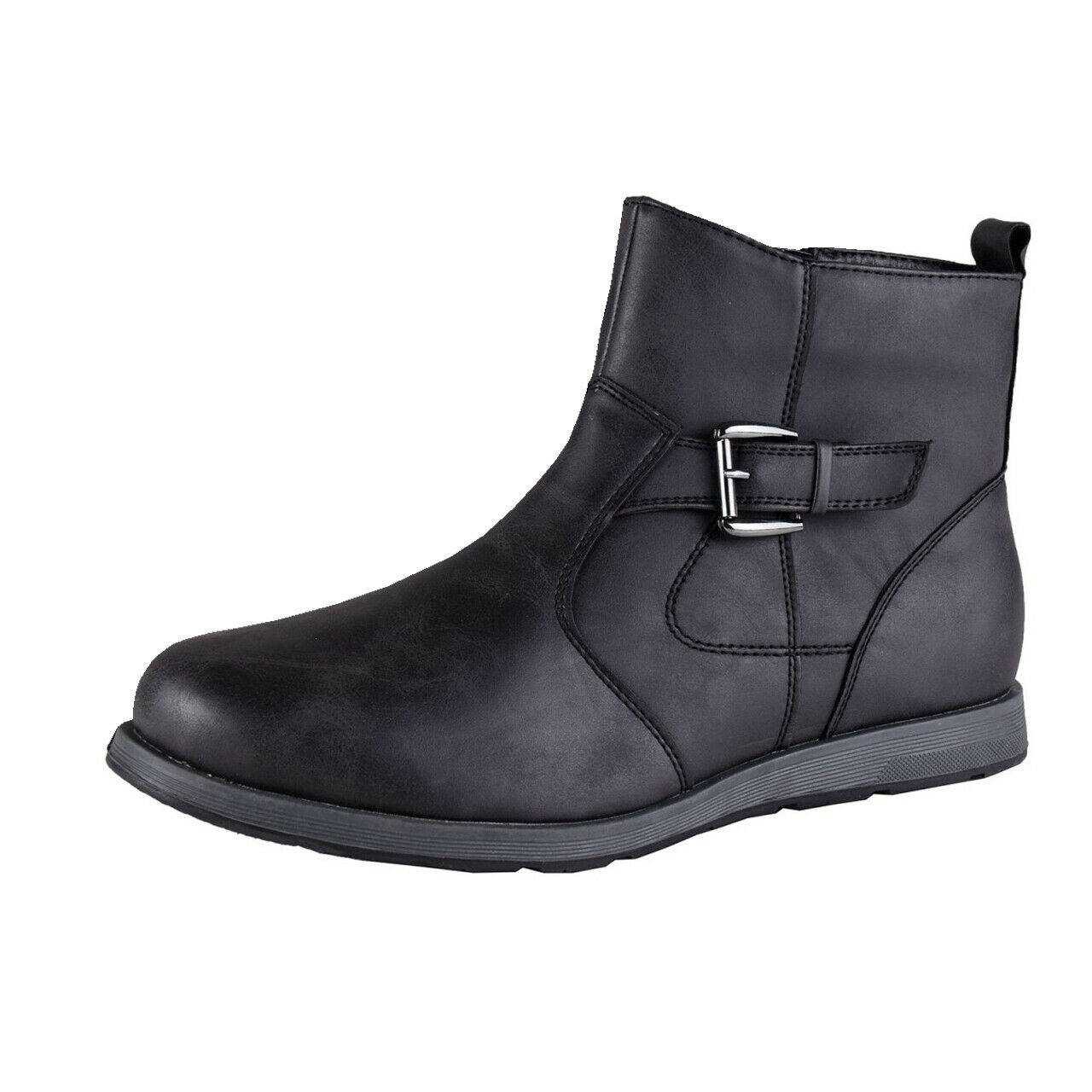Mario Bucelli Men's Ankle Boots, Boots, Boots, Casual shoes, Sale, Black