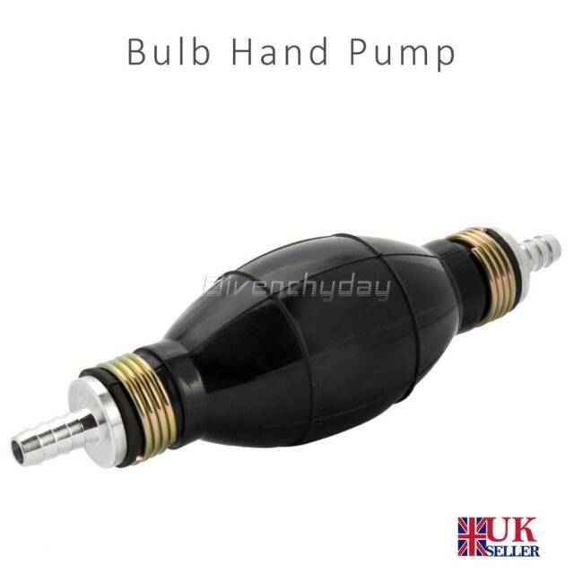 Fuel Line Pump Primer Bulb Hand Primer Gas Petrol Pumps Rubber And Aluminum AU