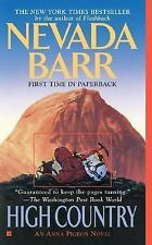 An Anna Pigeon Novel: High Country 12 by Nevada Barr (2005, Paperback)