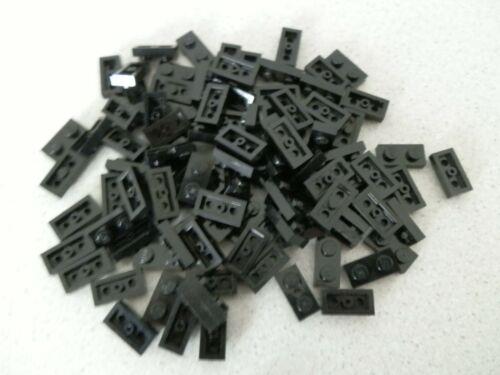 Lego 3023#  100 x Basic flach Plättchen Platten 1x2 schwarz 75222 75159